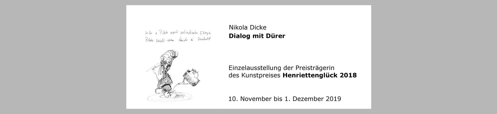 Dialog mit Dürer